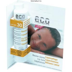 ECO-Cosmetics Бальзам для губ SPF 30 4 г
