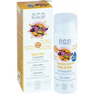 ECO-Cosmetics Детский крем для загара SPF 50+ 50 мл