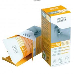 ECO-Cosmetics Водостойкий солнцезащитный крем SPF 50+ 75 мл