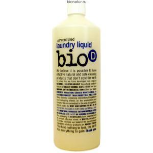 Bio-D экологическое жидкое средство для стирки, 1 литр
