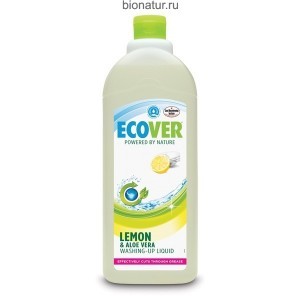 Ecover жидкое средство для мытья посуды с Лимоном, 1 литр